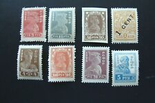 Russia Old Stamps 1922-1923 Perf. Imperf Mint Total Of 8 # Fam 1