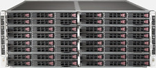 Supermicro SuperServer Sys-f617r2-rt Fattwin 8 Nodes 4u Chassis CTO Server