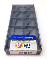 10.Stk Iscar Wendeplatten GIMF 406 IC20 Wendeschneidplatten  ***Neu***