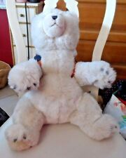 American Eagle outfitter Gund plush bear with backpack and snowboard 18""