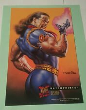 X-men fleer 1995 ultraprints -bishop