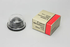 Canon FD 35mm macrophoto lens mint condition. very rare!