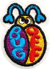 Patch - Bug Off Cute Insect Garden Antennas Animal Embroidered Iron On #20029