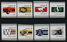 Canada 2559-66 MNH CFL Teams, Sports, Football