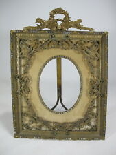 Antique French bronze picture frame # AR588