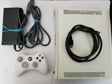 Microsoft Xbox 360 System White Console Only Tested Working.