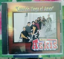 Cuando Llega El Amor [U.S. Version] by Los Askis (CD, Dec-2009, Disa)