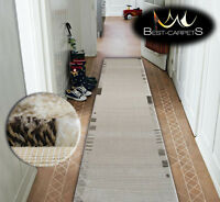 Very Thick Hall Runner SHADOW 8597 Width 70-120cm extra long Soft Densely RUGS