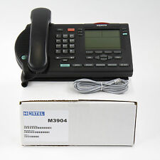 Nortel Meridian M3904 Display Avaya Phone Set Telephone Charcoal- Quality Refurb
