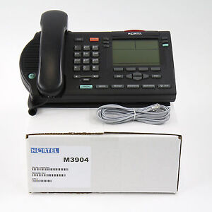 Nortel Meridian M3904 Display Avaya Phone Charcoal- Bulk