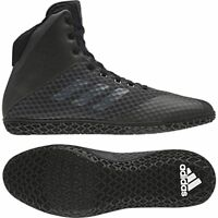 Adidas Mat Wizard 4 Wrestling Boots Adult Mens Women Black Boxing Shoes Gym Foot