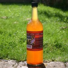 Apple Cider Vinegar - 1 Litre Glass Bottle - 100% Natural & with Mother