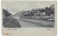 Bristol; Clifton & Bridge Hold To Light Novelty PPC, 1903 Local PMK By WH