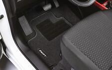 NEW Genuine Suzuki SWIFT 2017-> Carpet Mat Mats Set 4 Black Embroidered Heel Pad