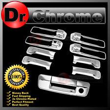 09-15 Dodge Ram 1500+2500+3500+HD Chrome 2 Door Handle+Tailgate W/Keyhole Cover
