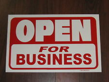 General Business Sign: Open For Business