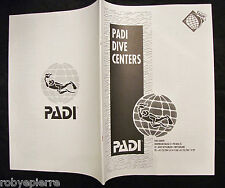Elenco Centri Padi MONDIALE world dive centers scuba diving sub subacquea dive