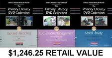 K-3 Fountas & Pinnell Teacher Dvd Collection Home or School Learning 3 Set Lot
