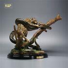K&P 1/6 Anaconda VS Jaguar Scene Statue Panthera Collector Animal GK Decor Model