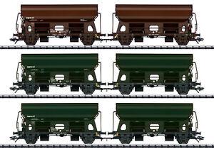 Trix HO 24169 Schwenkdachwagen-Set der Railco A.S. 3-teilig #NEU in OVP#