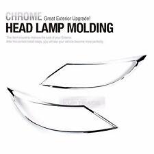 Front Headlight Lamp Chrome Cover Trim Molding 2P for KIA 2011-2016 Sportage