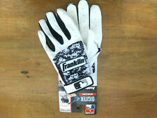 NEW Franklin Digitek Leather Tri Curve Digital Camo Batting Gloves Sz Adult L