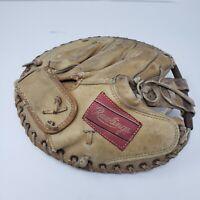 Vintage Rawlings DB 45 Catchers Mitt Elston Howard Professional Model