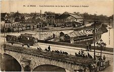 CPA  Le Mans - Vue d'ensemble de la Gare des Tramways á Vapeur  (299463)