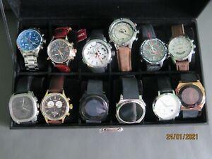Timex und Joop Uhren Konvolut. 12 Uhren!
