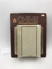 Vintage Nos Trine Doorbell Door Chime 50Gbc Ivory.Mid-Century