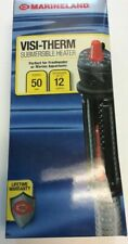 MARINELAND Visi-Therm 50 Watt Submersible Aquarium Heater FREE SHIPPING USA