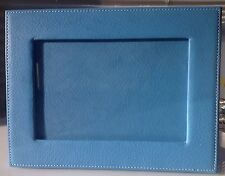 Designers Guild Sky Pebble Leather Frame - NEW