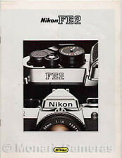 Nikon FE2 Camera + Lens Range Sales Brochure mid 1980s, More Catalogues Listed