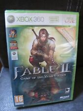 FABLE II Game of the Year Edition XBOX 360 jeu neuf sous blister