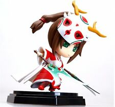 LOL League of Legends Game Akali Q Version Action Figure PVC Toy Anime Model 6""