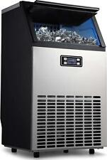 Adt Ice Mahcine Freestanding Stainless Steel Commercial Ice Maker Machine 99lb