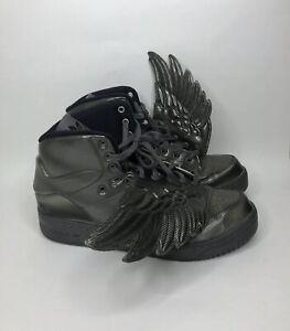 Adidas Jeremy Scott Wings Molded Men's Size 11 ART M29014 2014 Carbon Fiber
