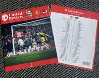 Manchester United v AZ Alkmaar Europa League 12/12/19!FREE UK DELIVERY!!!