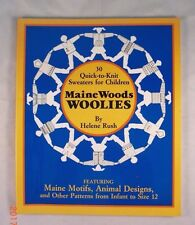 Maine Woods Woolies - Helene Rush - 30 Knit Sweater Patterns for Children