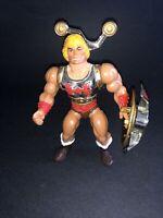 VTG Mattel HE-MAN MOTU 1986 Flying Fists He-Man Figure 100% Complete