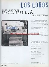 Los Lobos Just Another Band From East LA 1993 Magazine Advert #2057