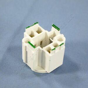 Leviton Compact Fluorescent Lampholder Light Sockets Screw Down G24q-2 26725-4A2