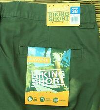 Mens Savane Hiking Shorts Sz 40 Comfort Waist Cargo Brown Tech Pocket Upf30