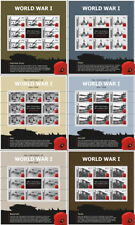 Gibraltar 2015 WWI the great war 1e Wereldoorlog ONDER POSTPRIJS! postfr/mnh