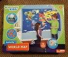 Discovery Kids Activity World Map 76 pieces new in box great for teaching tool