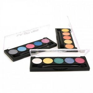 L.A Colors 5 Color Metallic Eyeshadow Palette Eye Shadow [Various Palettes]