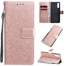 For Sony Xperia 10 ii 1 ii 5 L4 L3 XZ3 Magnetic Flip Wallet Leather Case Cover