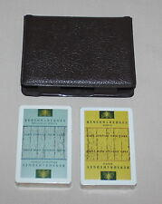 Benson & Hedges Cigarettes 2 Decks Playing Cards 1970s New Sealed