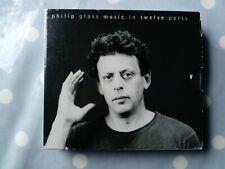 Philip Glass Music In Twelve Parts 12 Track 3 CD Set In Pic Slipcase