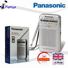 Panasonic RF-P50 AM/FM Portable Pocket Radio 2-Band Receiver RFP50 (Silver)